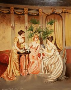 Afternoon tea, (omaggio a Soulacroix)